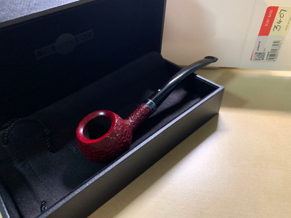 Dunhill Ruby Bark 3407 Prince